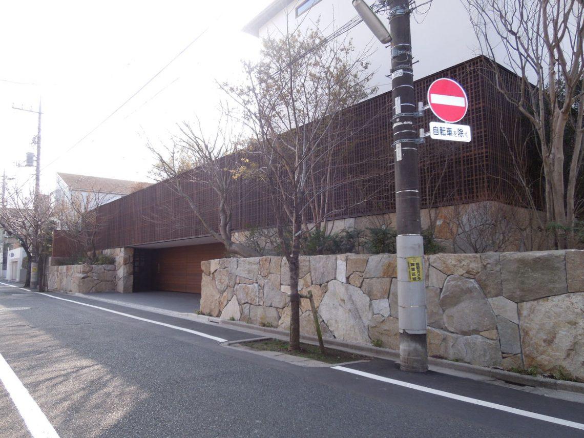 東京で11億の豪邸